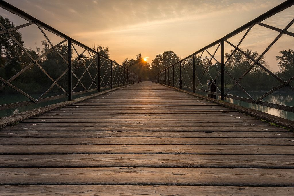 All sizes | Sunrise at the bridge | Flickr - Photo Sharing!