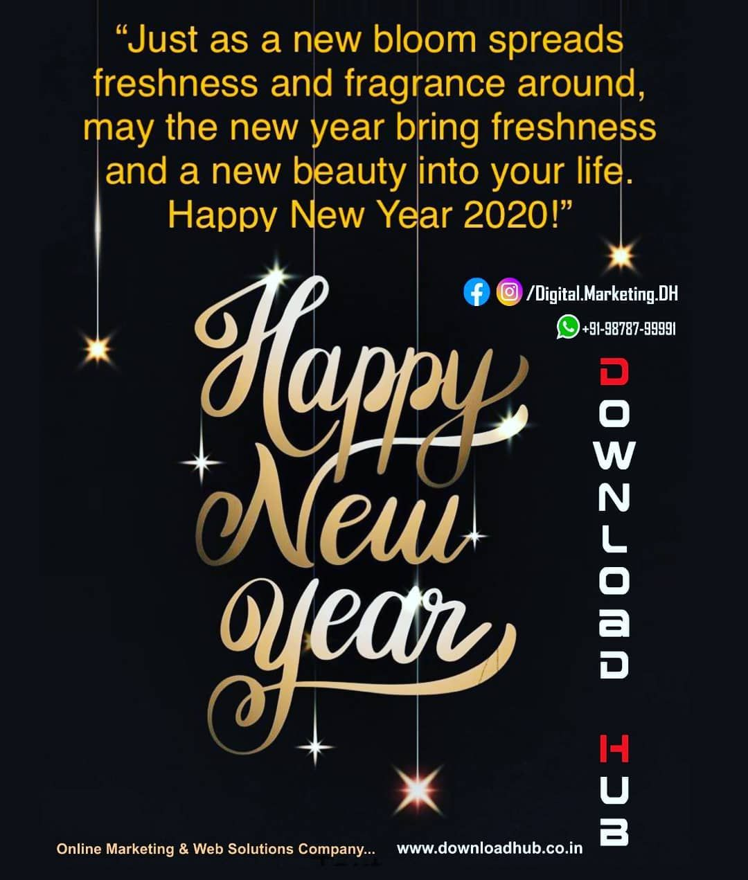 Download Hub Wish You Happy New Year In 2020 Happy New Year