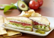 Fresh Avocado Grilled Cheese