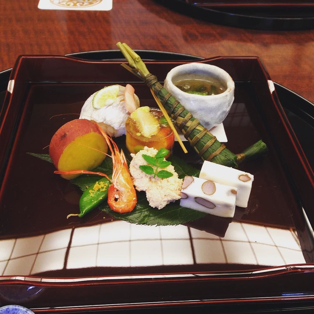 Japanische Küche Kaiseki 南禅寺 順正 八寸 京都 Kyoto Kaiseki Washoku Tofu Japan By