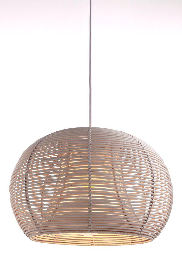 Suspension Colours Fuokko Beige L 40 X H 26 Cm Luminaire Chambre