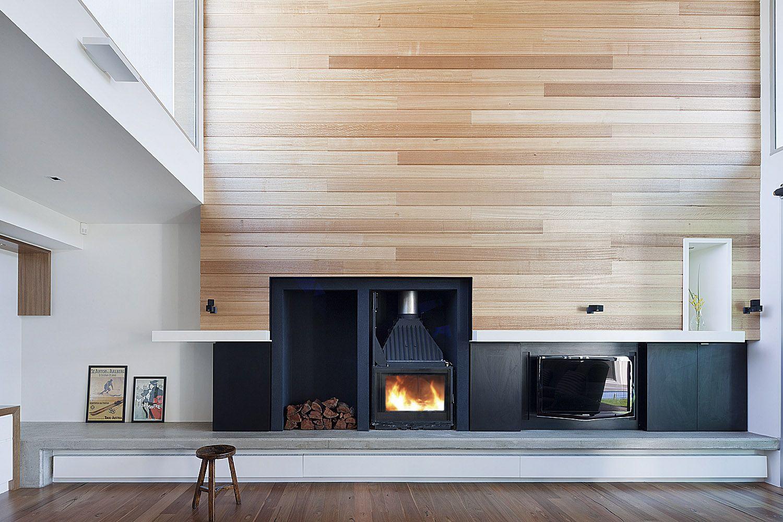 Beautiful Timber Feature Wall Rachcoff Vella Architects