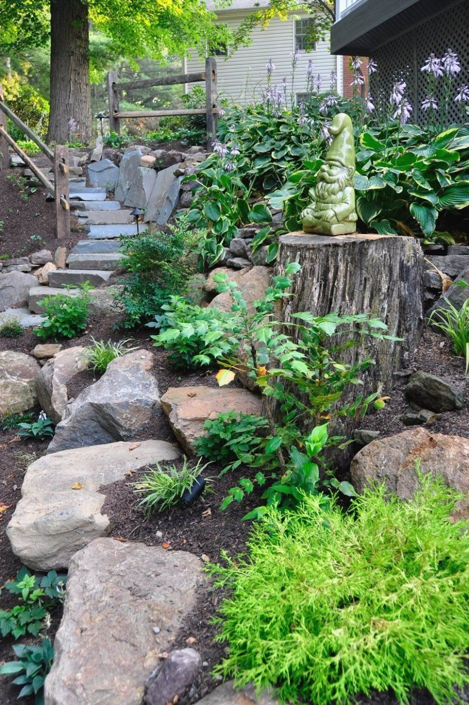 Landscape Design In Broomall Pa Naturescapes Fantastic Room Decor Suggestions For Gardens In 2020 Landscaping With Rocks Rock Garden Front Yard Landscaping
