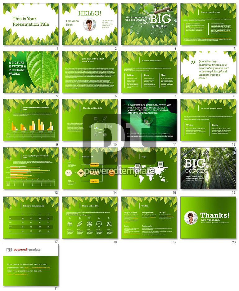 nature google slides themes