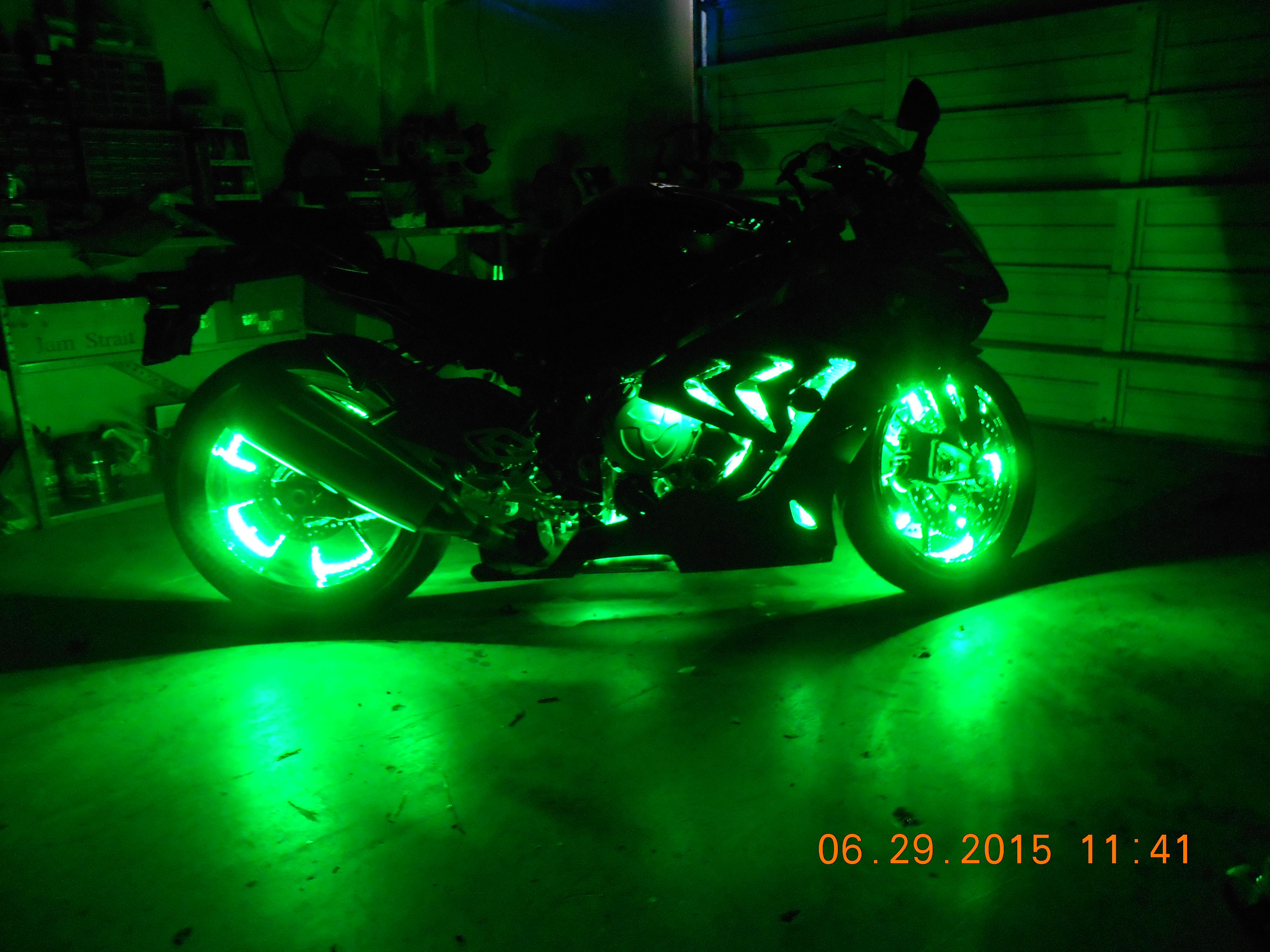 Check Out These Pics Of This Custom Led Accent Light Job On