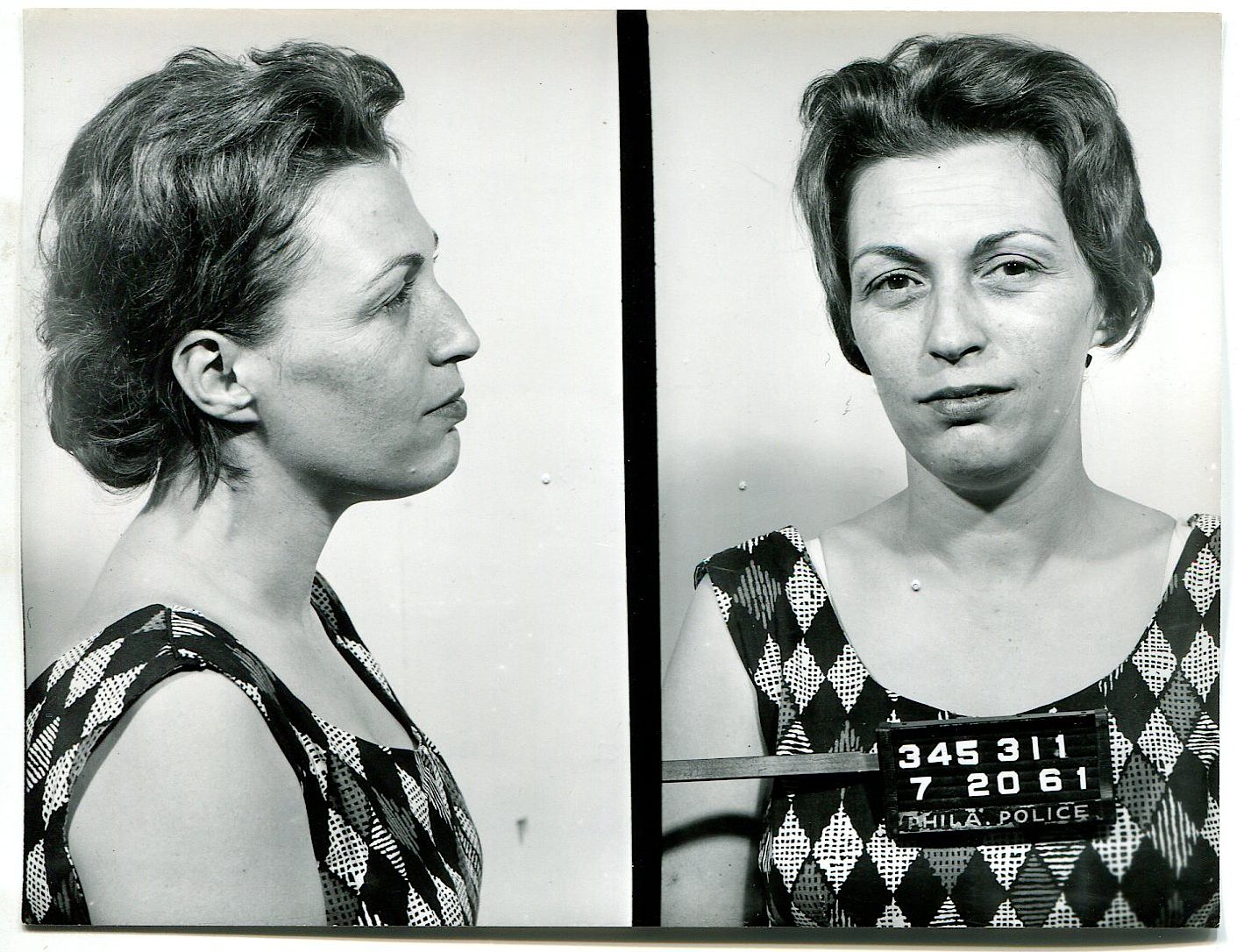 The vintage mugshots of shoplifters bank robbers and murderers from - Vintage Mugshots Women Share