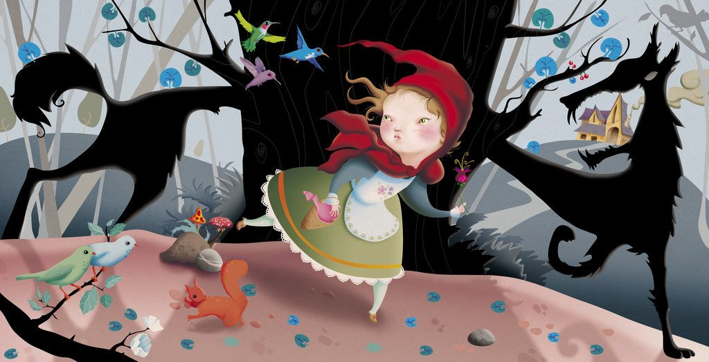 Le Petit Chaperon Rouge By Gigi4g On Deviantart Little Red Ridding Hood Red Riding Hood Little Red Riding Hood