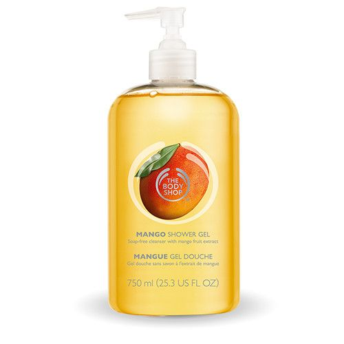 Mango Shower Gel Shower Gel Body Cleanser The Body Shop
