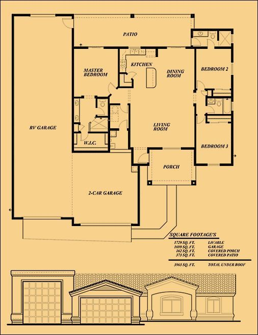 Image result for RV garage floor plans Houses Pinterest Garage