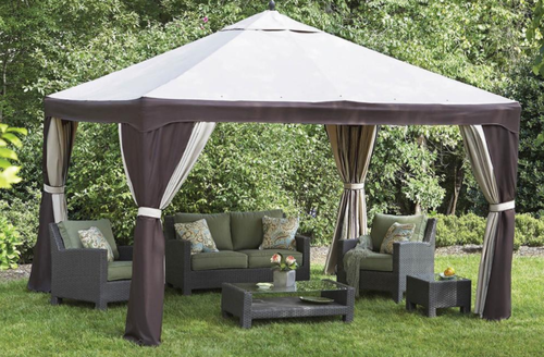 Home Backyard Gazebo Garden Gazebo Gazebo Replacement Canopy