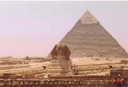"The Pyramids and the Sphinx, Egypt: You have to visit this amazing place, one of the Seven Wonders of the World, the Great Pyramid of Giza.  The Great Pyramid of Khufu (or Cheops)  The Pyramid of Kafhre  The smaller Pyramid of Menkaura.  There are three main pyramids in Giza:  Each Pyramid is a tomb to a different King of Egypt. In front of the pyramids lies the Sphinx (or Abu al-Hol in Arabic, ""Father of Terror""). Carved out of a single block of stone, this enormous cat-like sculpture has…"