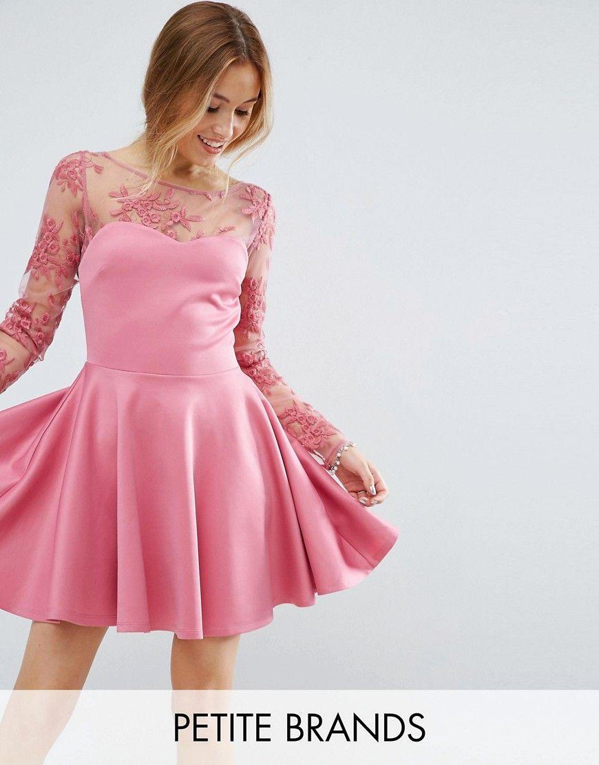 Get this City Goddess Petite\'s skater dress now! Click f…   Women\'s ...