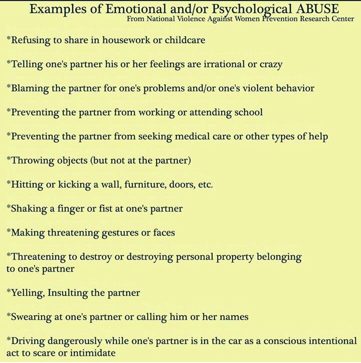 Verbal abuse. A recovery from narcissistic sociopath ...