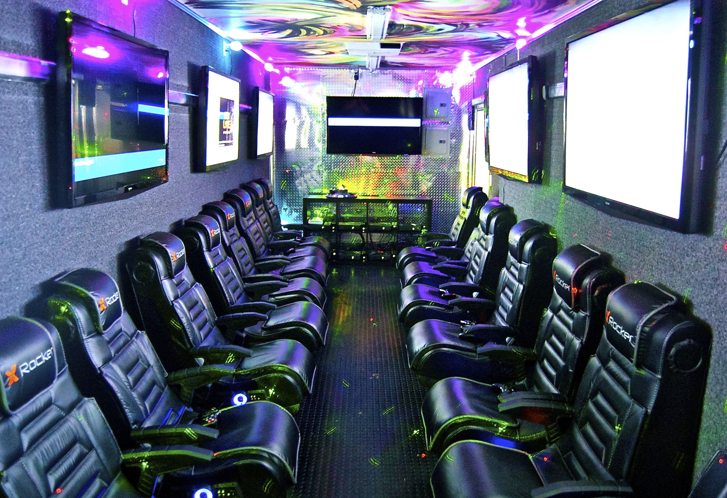 KungPhoo Rockin' Gamin' Parties Video game rooms