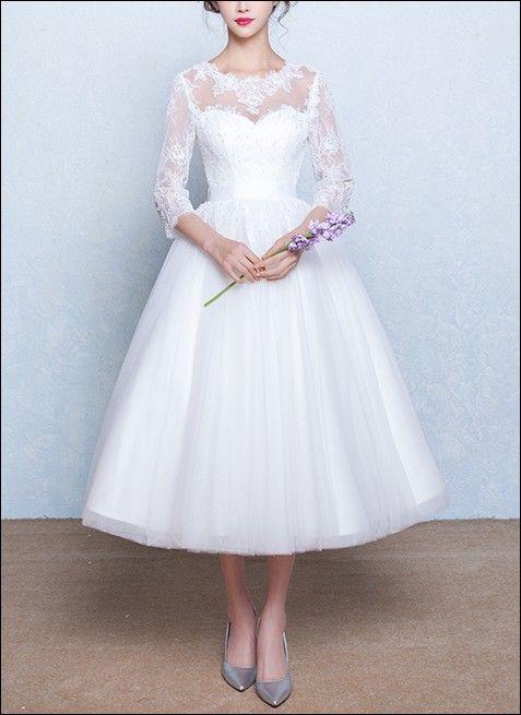 Hochzeitskleider 50