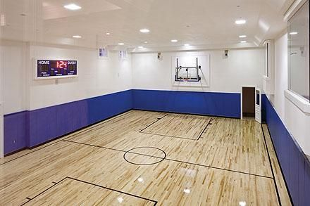 In Door Basketball Court Expensive Houses Stone Mansion Architectural Design House Plans