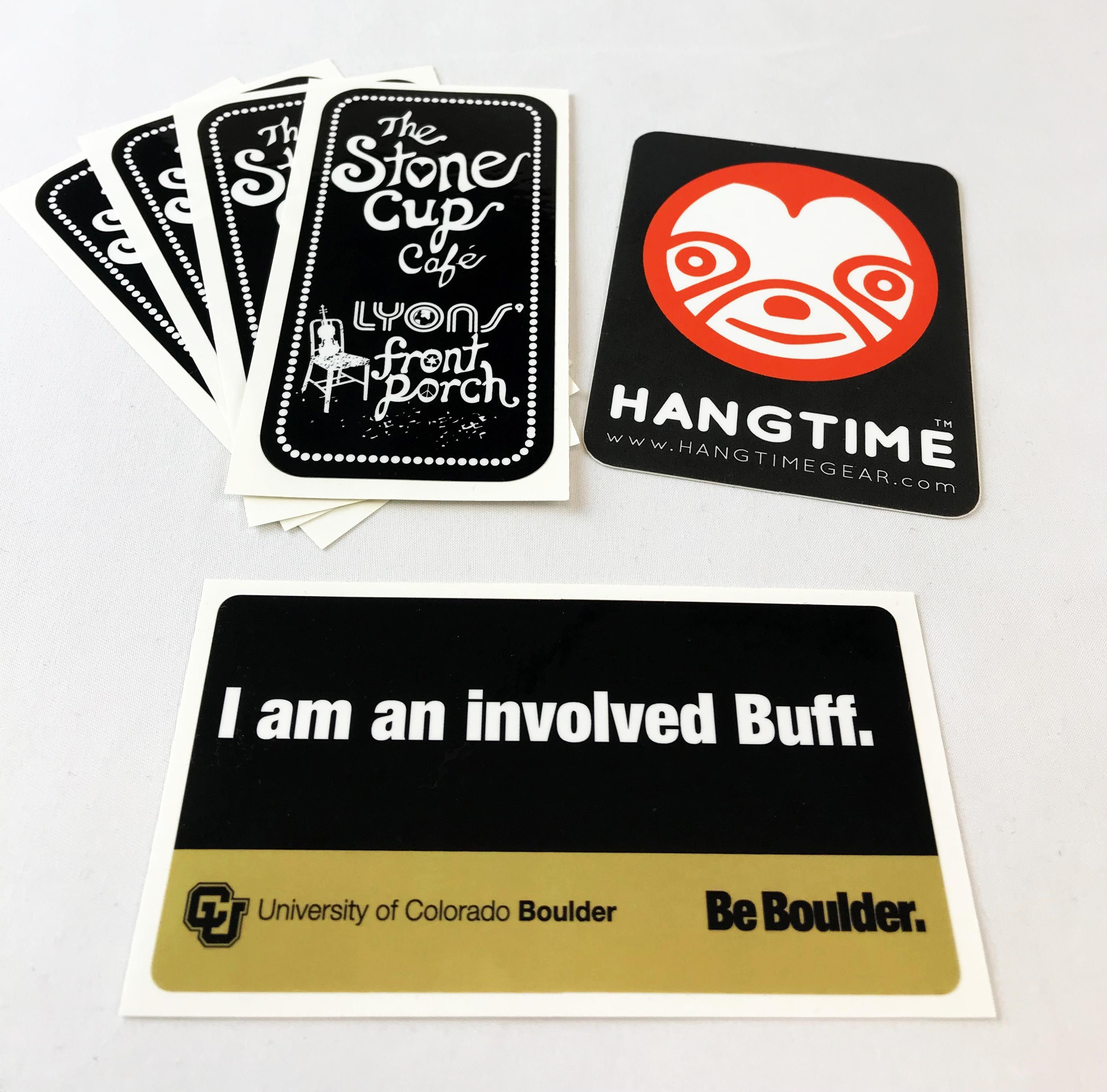 Have you tried your designs as custom rectangle stickers whether you are sharing a message