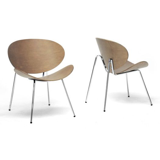 Latitude Run Wolfe Mid Century Modern Side Chair Mid