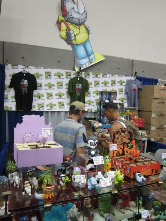 PHOTO RECAP: Cardboard Spaceships Booth at SDCC 2016!