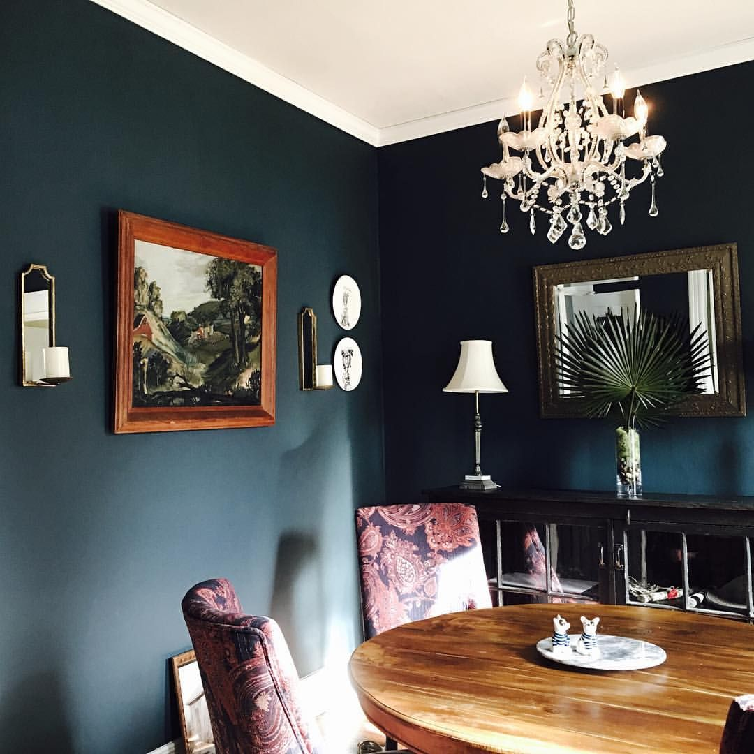 Dining Room Paint Schemes: Seaworthy By Sherwin Williams