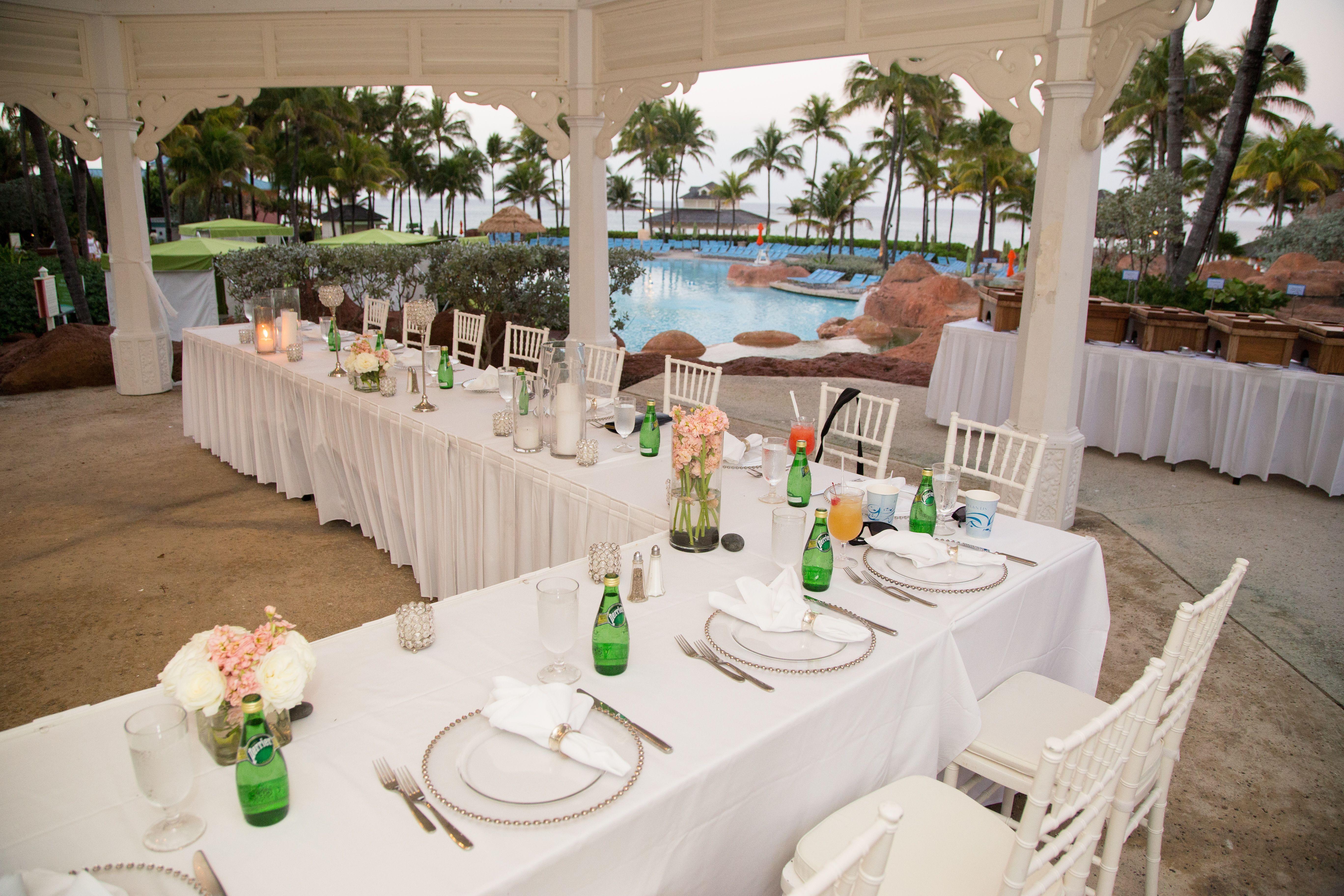 Wedding Reception At Seag S Overlook Atlantisresort