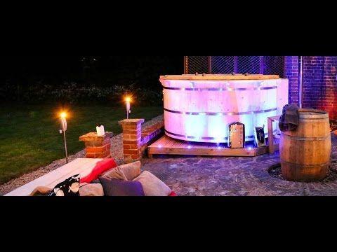 Baltic Gfk Badebottich Glasfaser Badetonne Fiberglass Hot Tub