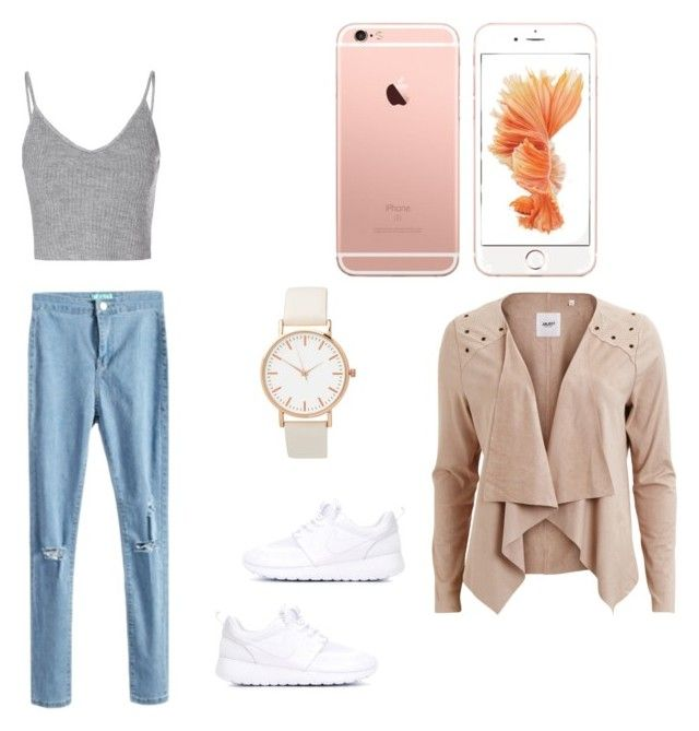 """Outfit 5"" by livi-schnyder on Polyvore featuring Mode, Glamorous, NIKE und Object Collectors Item"