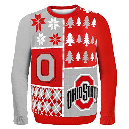 Ohio State Ugly Christmas Sweater.How To Have An Ohio State Buckeyes Ugly Sweater Party