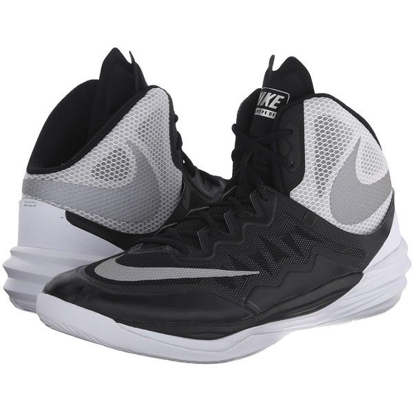 Mens Shoes Nike Prime Hype DF II Black/White/FLT Silver/Reflect Silver