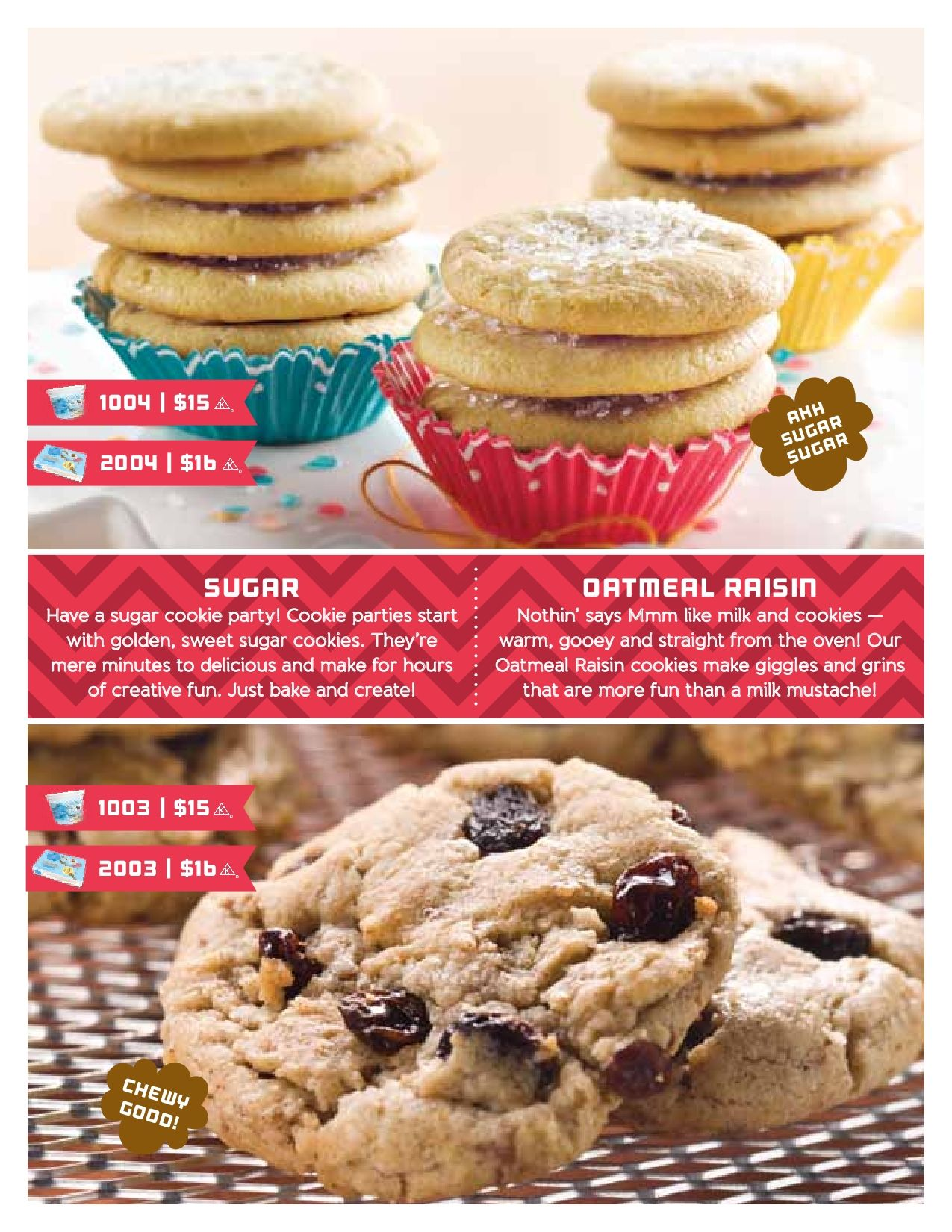 Cookie dough fundraiser with images cookie dough