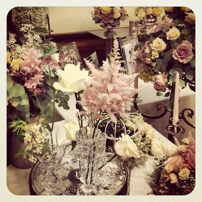 vintage inspired colors.........gorgeous astilbe!