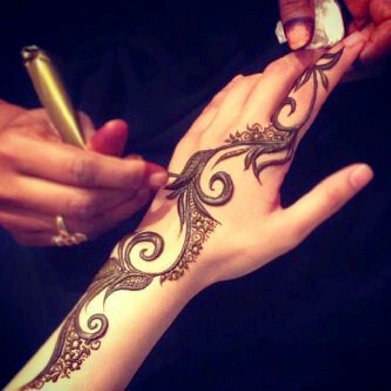 Arabic Mehndi Designs 2013 Facebook - Collection of thousands of free mehandi design from all over the world