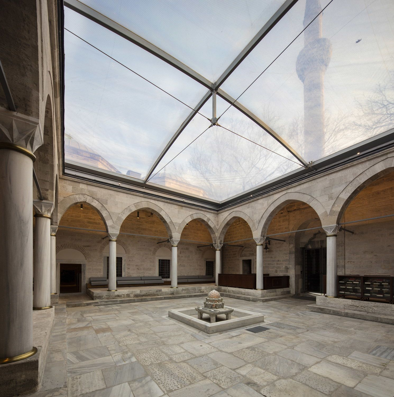 Erhalten statt aufpumpen - Osmanische Bibliothek von Tabanlioglu ...