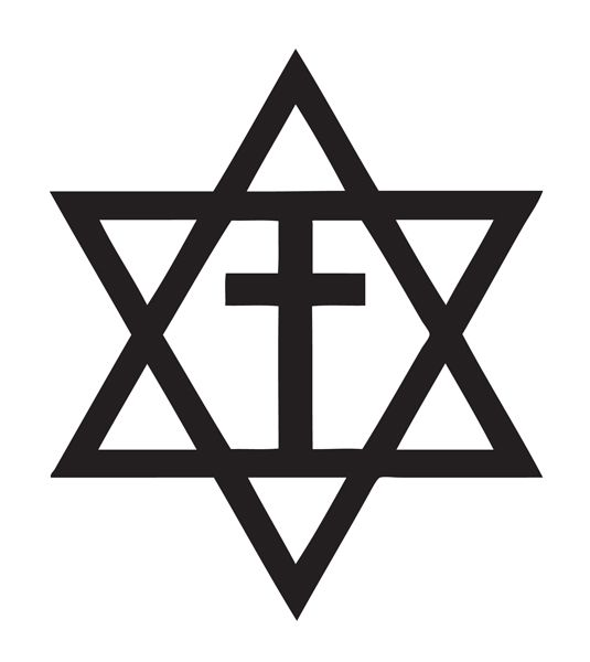 Messianic Jewish Symbol World Religions Pinterest Symbols