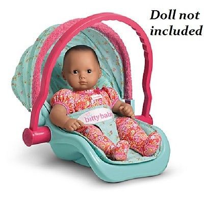American Girl Doll Bitty Baby Or Twin Travel Seat Carrier Babys Twins