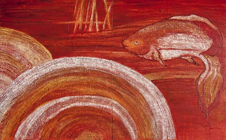 Mars in Pisces Painting | Painting, Art, Art painting