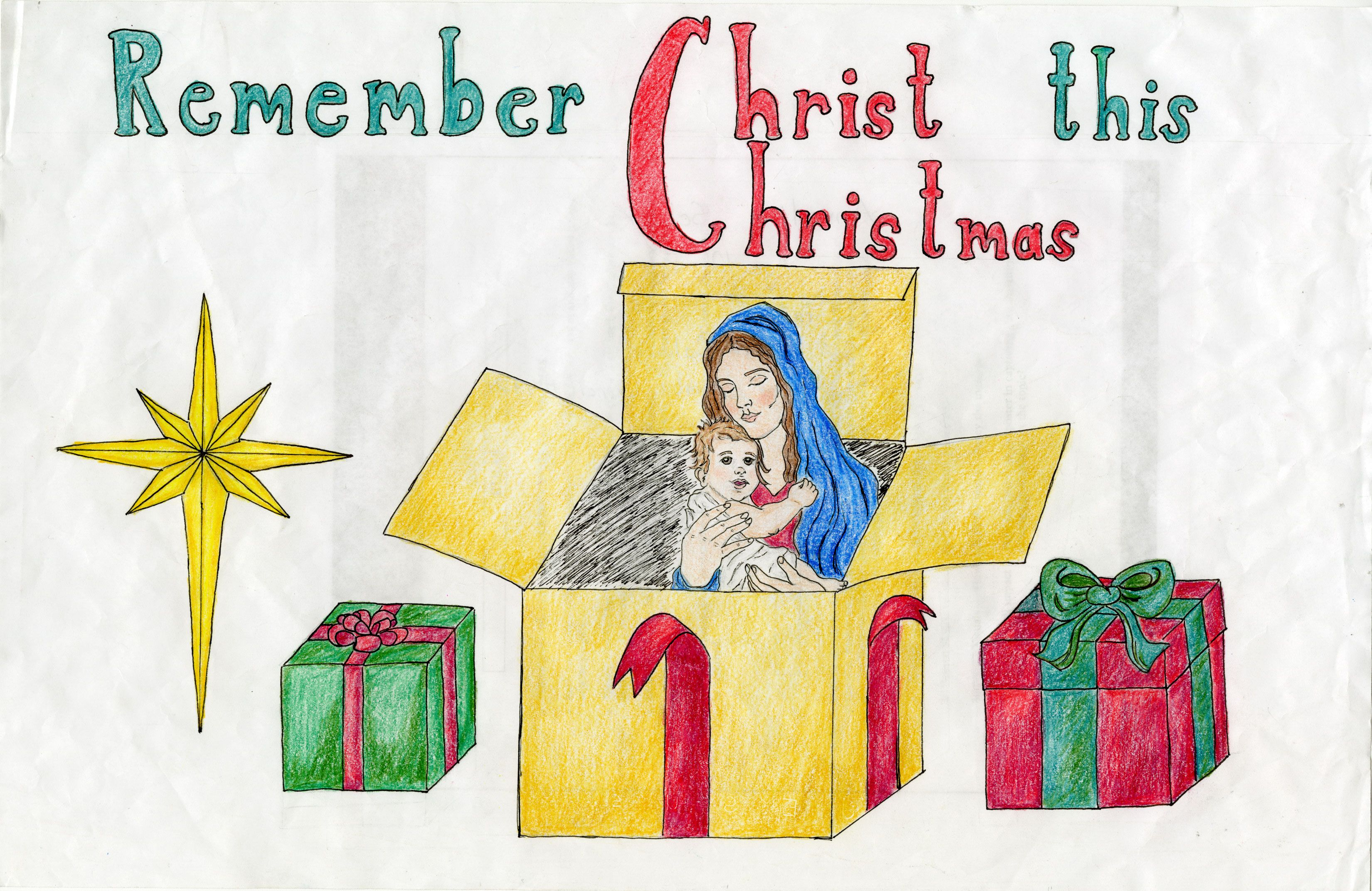 Keep Christ in Christmas Poser Contest | Knights of Columbus | KOC ...