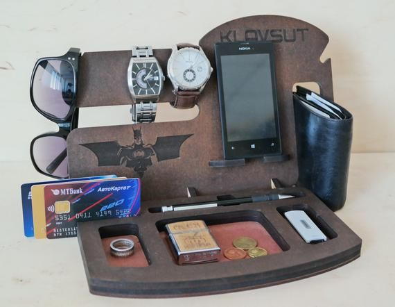 Mens Birthday Gift Personalized Docking Station For