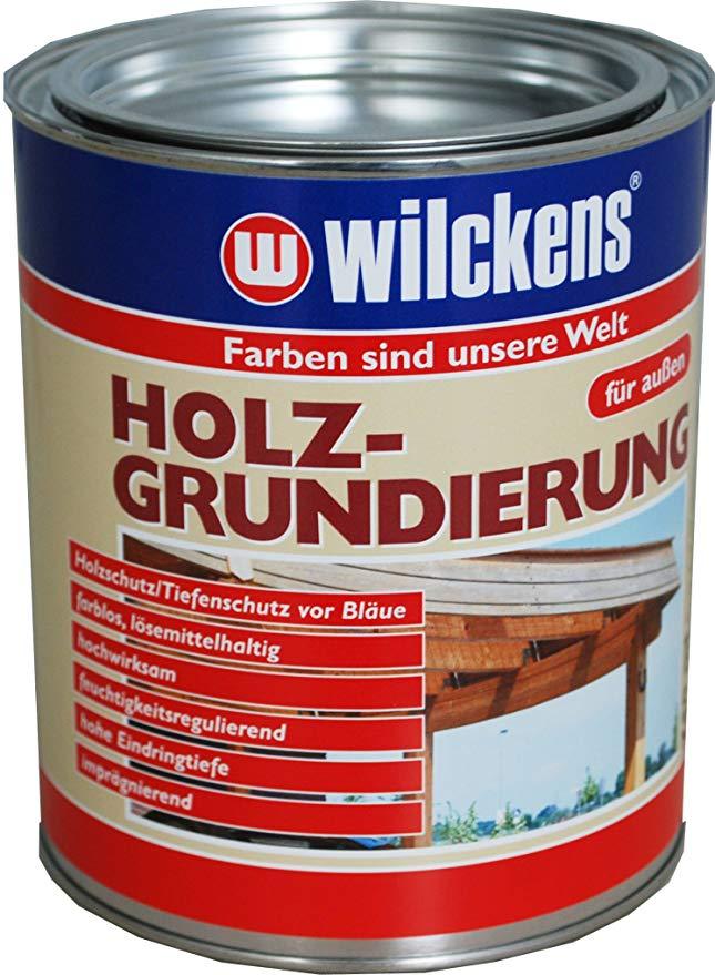 Wilckens Holzgrundierung Farblos 2 5 Liter 11200000080 Amazon De Baumarkt In 2020 Balkonschrank Holz Grundierung