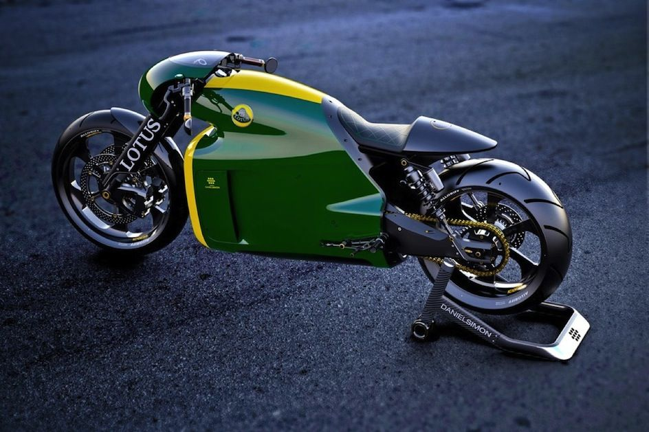 Lotus Tron Bike 4 C 01 Superbike By Designer