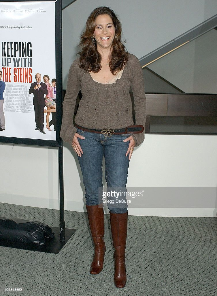 Jami Gertz During Keeping Up With The Steins Los Angeles Premiere Celebrities Female Premiere Celebs