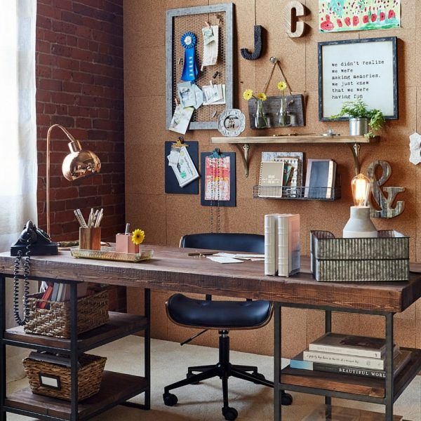 DIY Cork Board Office Wall + Video + Gramps (With Images