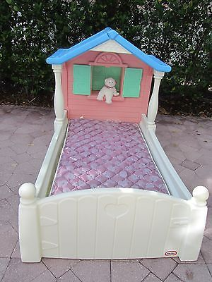 Astonishing Little Tikes Storybook Cottage Twin Bed With Beautyrest Twin Andrewgaddart Wooden Chair Designs For Living Room Andrewgaddartcom