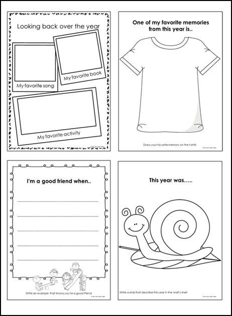 Ambitious image for end year printable activities