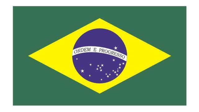 Bandeira Do Brasil Vetorizada Em Cdr Bandeira Do Brasil Vetor