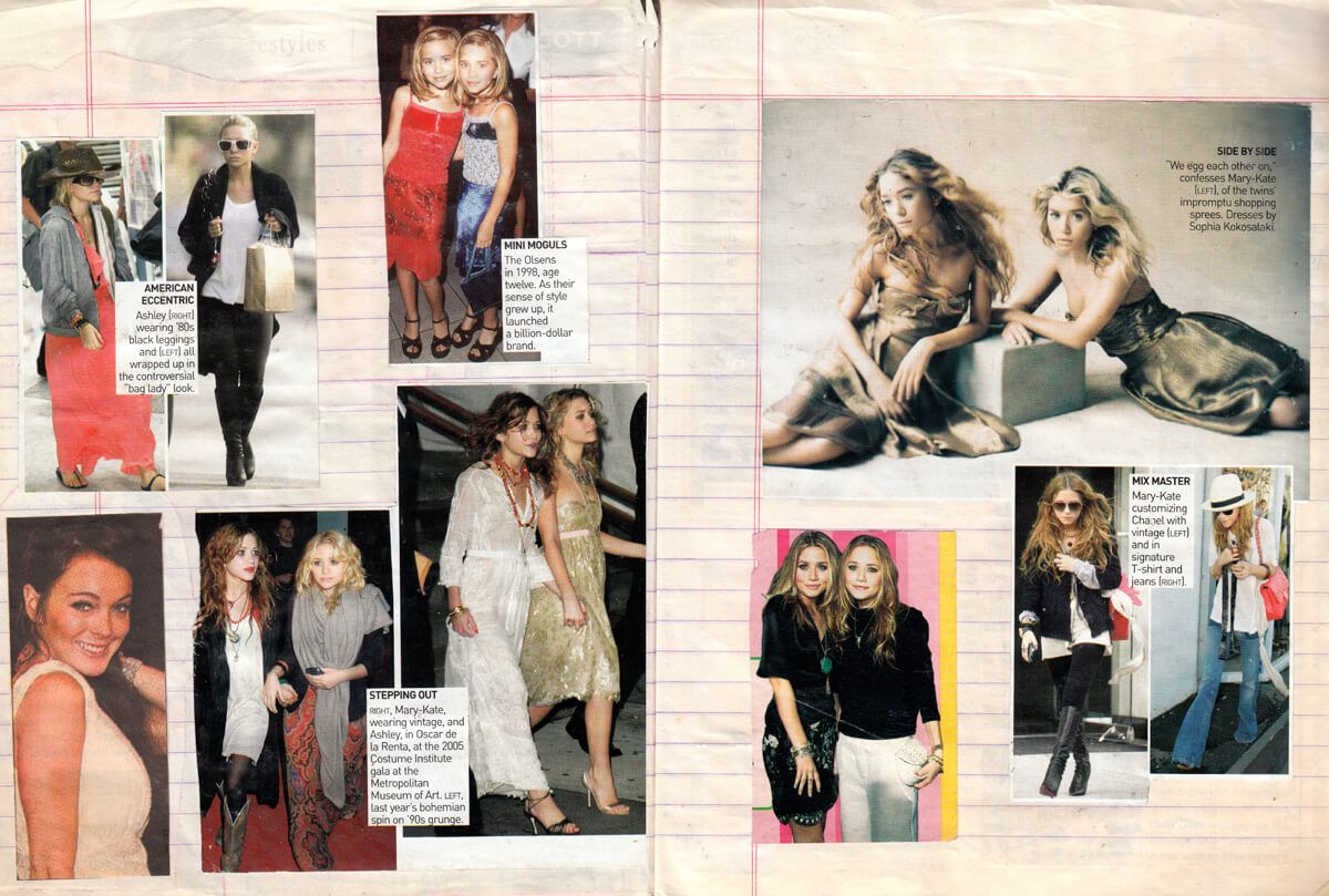 Teen Idols // Pages torn from the scrapbooks of '00s fangirls //  By Vartika Sharma, Vatsala Manan and Apoorva Bisht