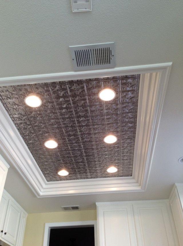 replace fluorescent light fixture in kitchen tile floors ideas erin s new house