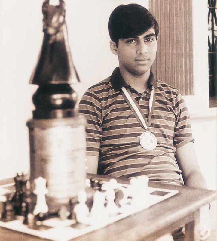 Viswanathan Anand becomes Chess Grandmaster, 1988 | Adorable India ...