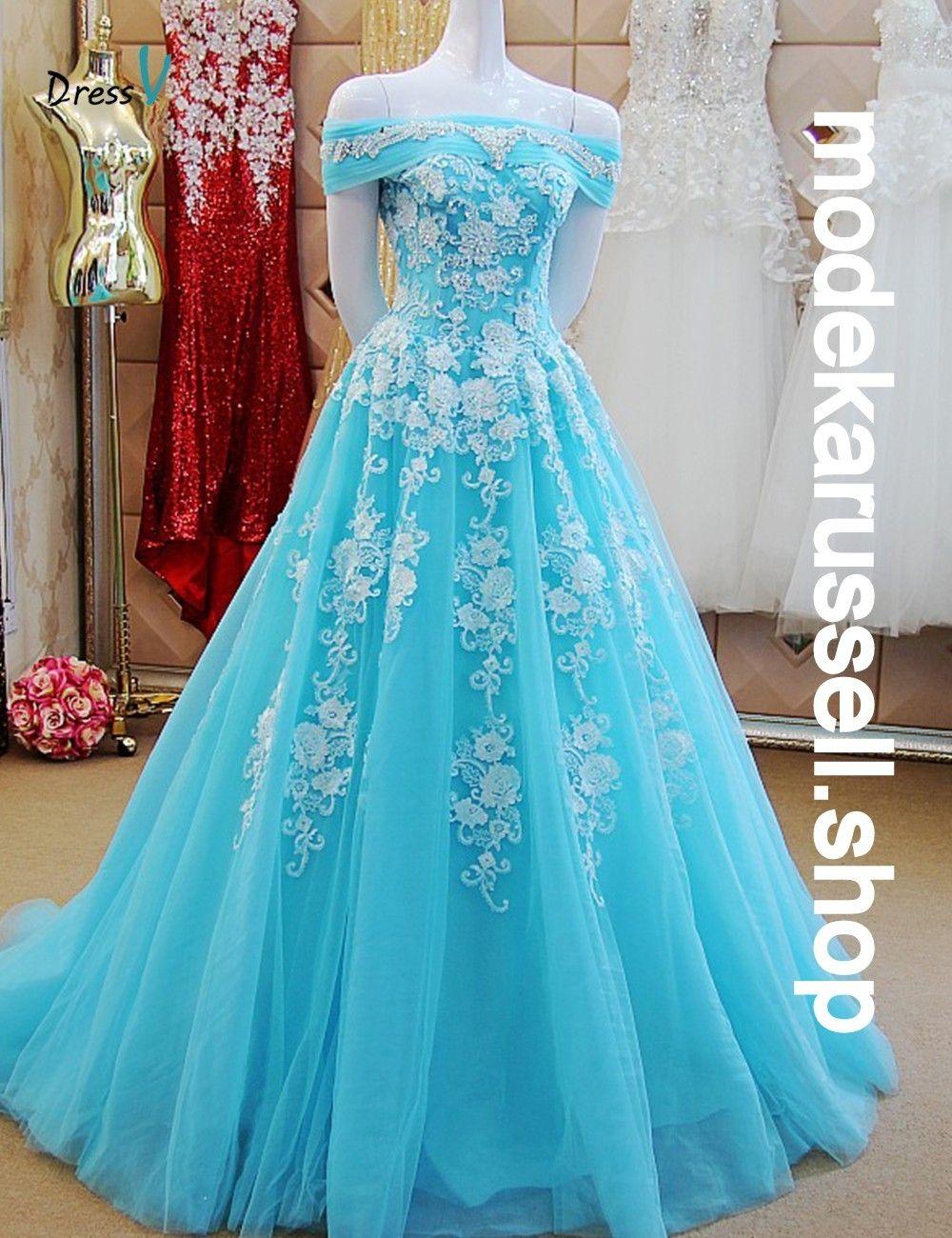 Ice Blaues Abendkleid Fauna  Kleider, Blaues abendkleid und