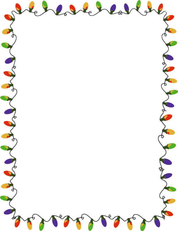 picture about Free Christmas Clipart Borders Printable named totally free xmas borders for phrase -